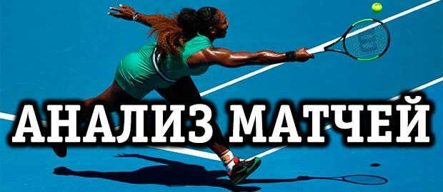 Правила анализа теннисных матчей
